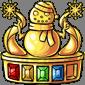 Gold Snowman Quest 4