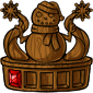 Wooden Snowman Quest 1